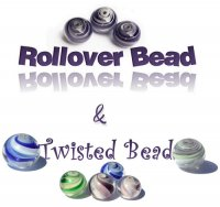 Tutorial Twisted Bead & Rollover