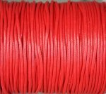 Waxcord, 2mm round, Red