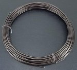 Aluminum Wire, 1.5mm, Brown