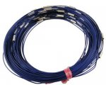 Necklace - Blue - 444.5mmx1mm