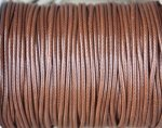Waxcord, 2mm round, brown