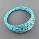 Necklace - Blue light Turquoise- 444.5mmx1mm