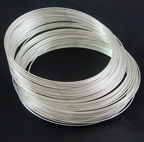 Memory Wire Silver 115x0 6mm 12bead For All The